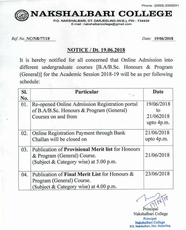 Welcome to Nakshalbari College